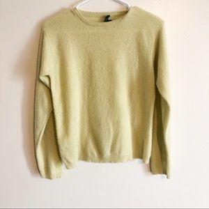 J. crew cashmere beautiful yellow sweater